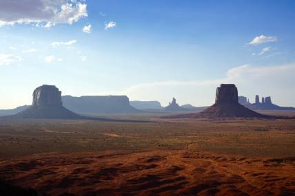 Monument valley, Artist point