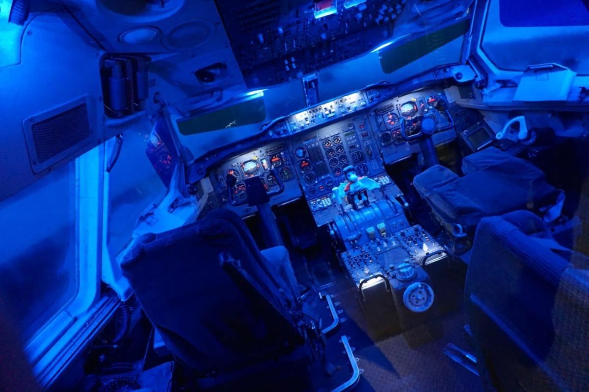 Toulouse, Aéroscopia, cockpit