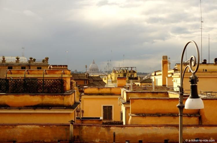 Italie, Rome, toits Basilique Saint-Pierre