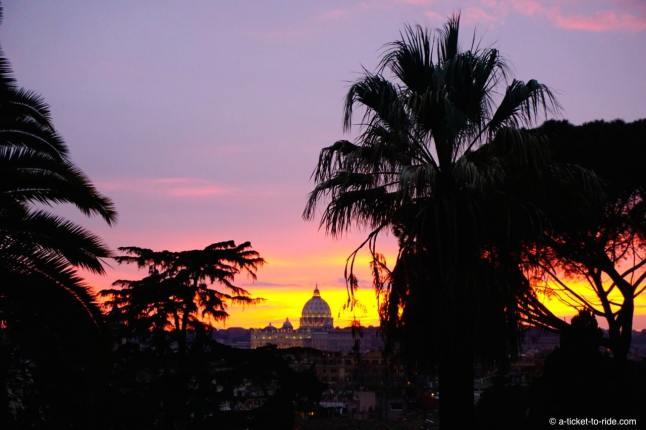 Italie, Rome, vue sur le Vatican