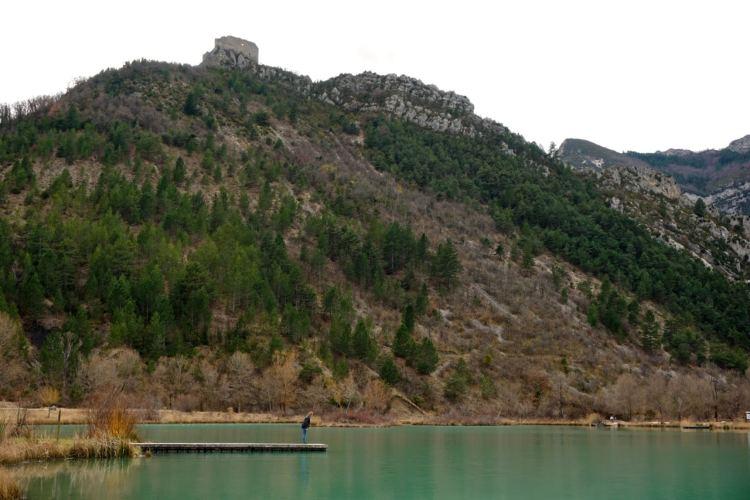 Drôme, plan d'eau Pas des ondes