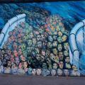 Berlin, East side Gallery, oeuvre