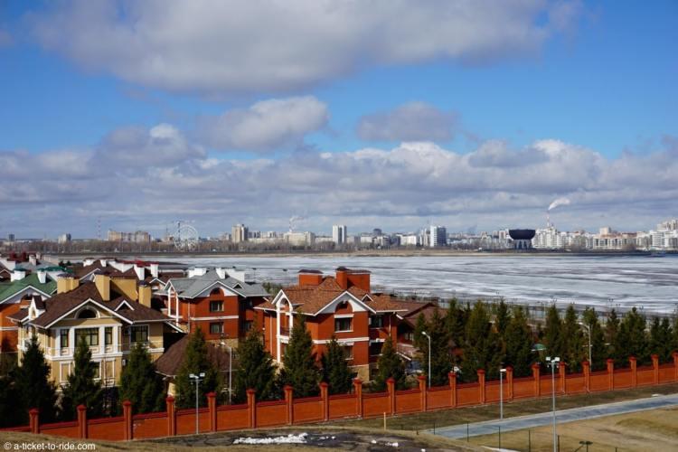 Russie, Kazan, fleuve Volga