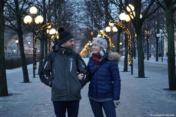 Stockholm, elodie et mathieu