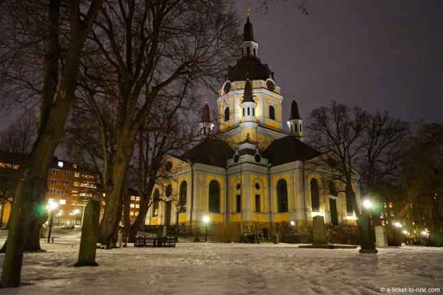 Stockholm, Södermalm, Katarina kirka