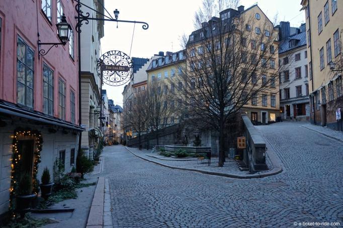 Stockholm, quartier Gamla Stan