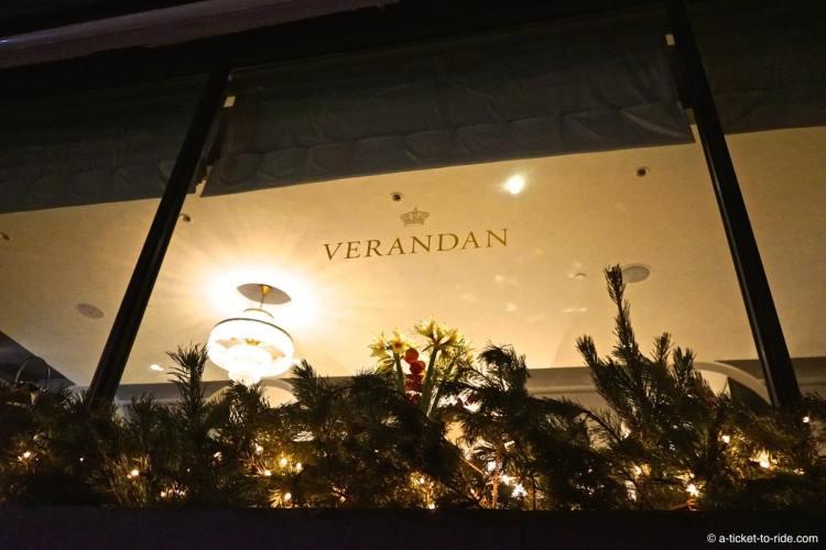 Stockholm, restaurant Verandan
