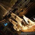 Stockholm, Musée Vasa, maquette