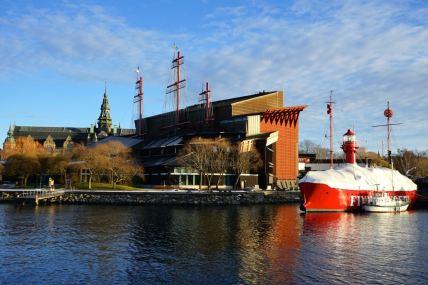 Stockholm, Musée Vasa, extérieur