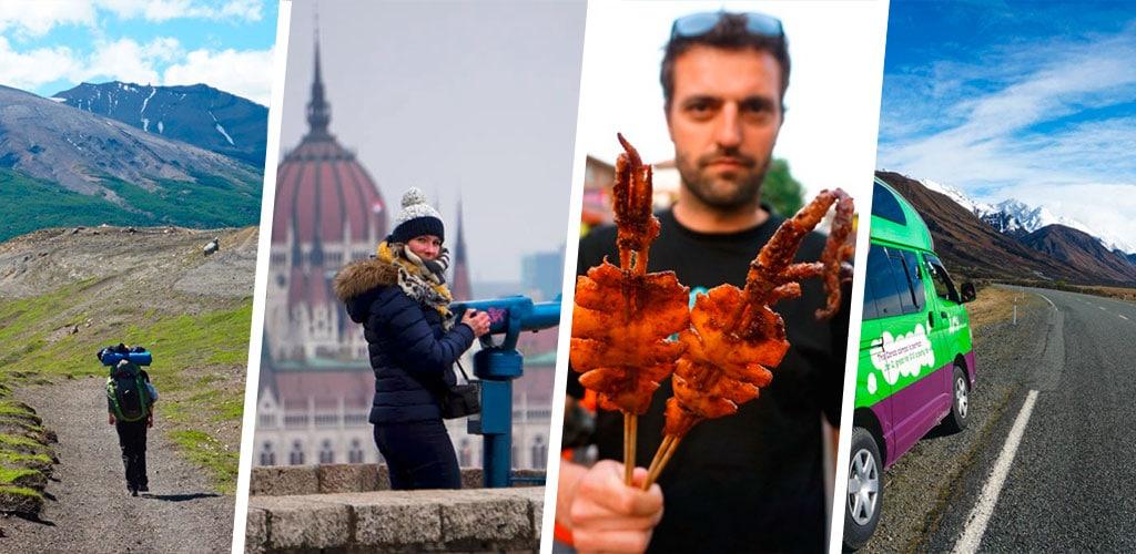Thématiques voyage : gastronomie road trip...