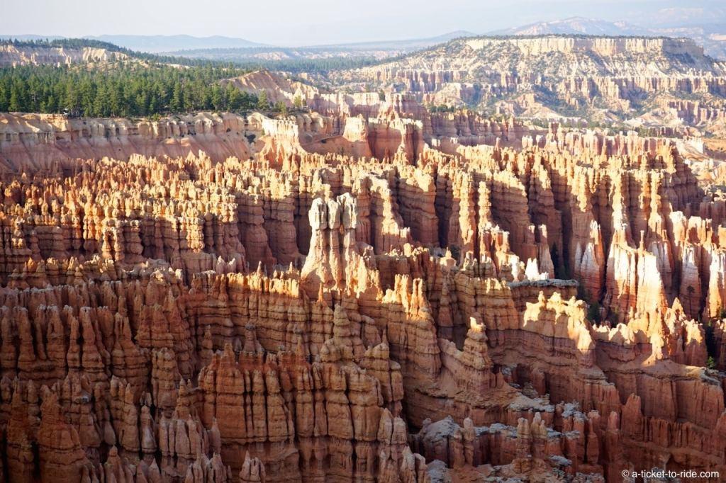 USA, Bryce Canyon, hoodoos