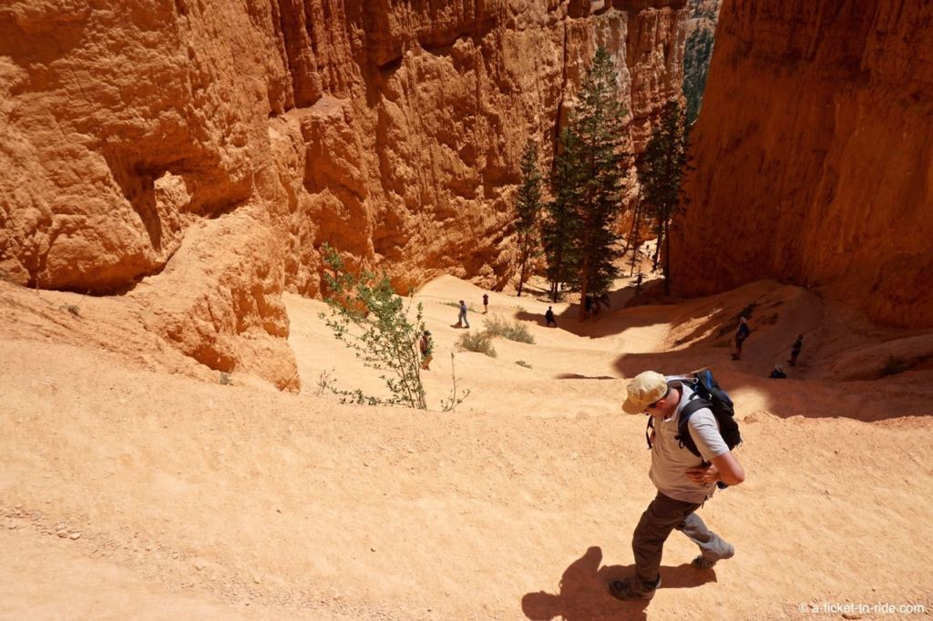 USA, Bryce Canyon, Navajo Loop, Wall Street