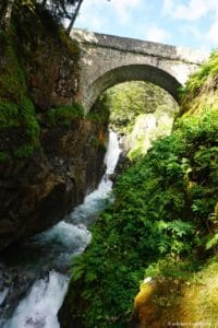 Hautes-Pyrénées, Cauterets, Pont d'Espagne