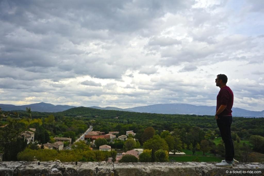 Panorama depuis Grignan