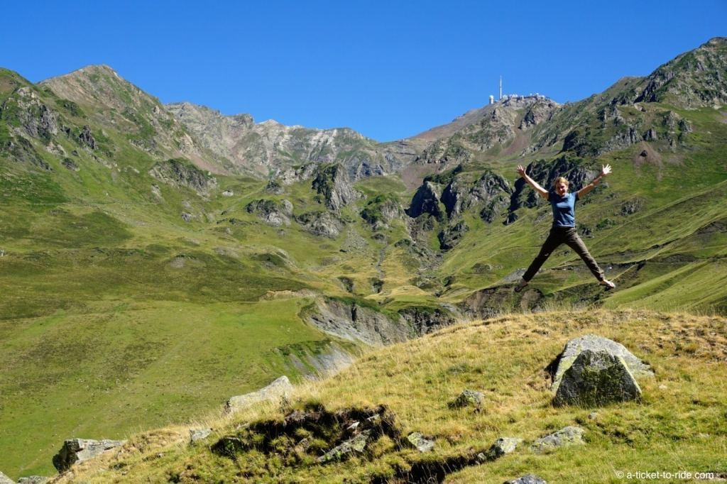 Ascension col du Tourmalet, vue Pic du Midi