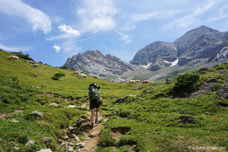 Parc national des Pyrénées, ascension au refuge des espuguettes