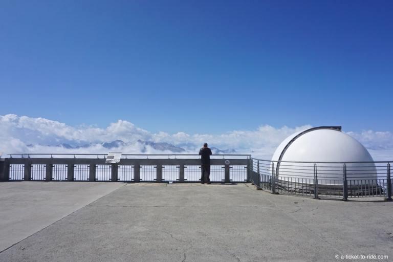Pic du Midi, les terrasses