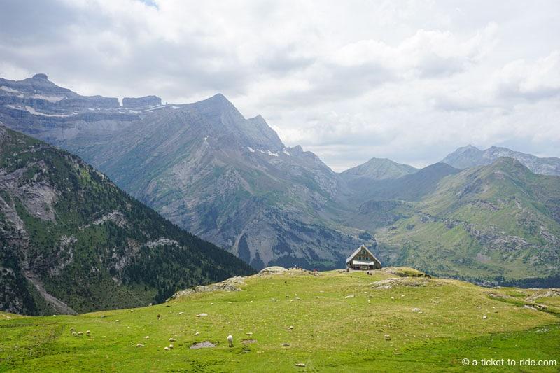 Pyrénées, refuge des Espuguettes