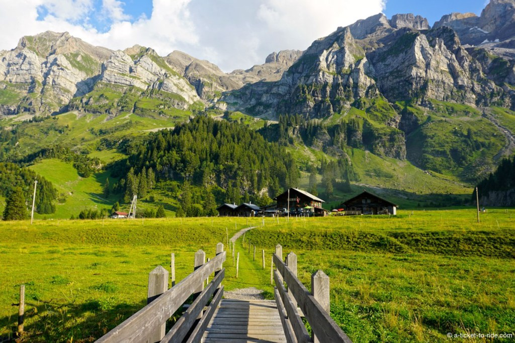 Plateau de Barme en Suisse