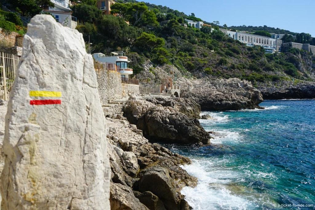 Sentier du littoral, Cap de Nice