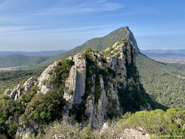 Pic Saint-Loup, Sentiers des crêtes