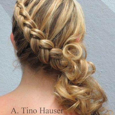 Frisuren Halboffen Geflochten frisuren lange haare