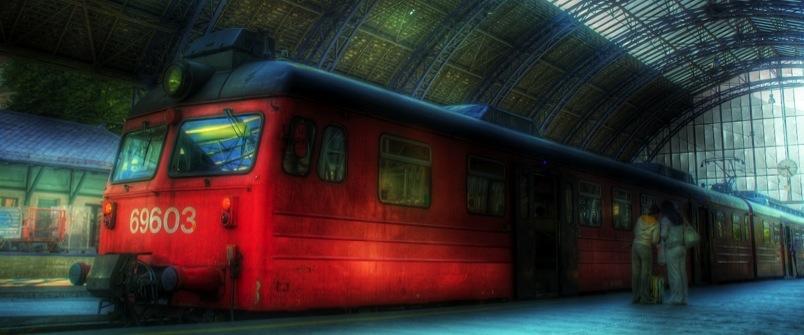 a train entertainment