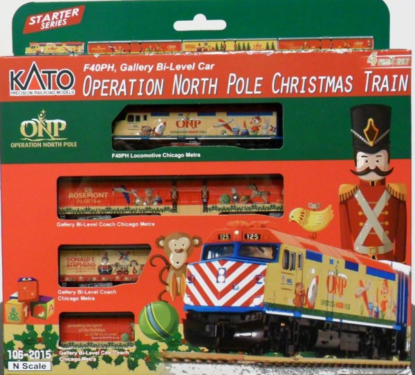 Operation North Pole Christmas Train