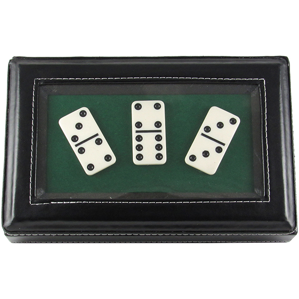 Double 6 Dominoes - Standard White