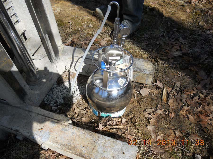 074_soil gas sampling