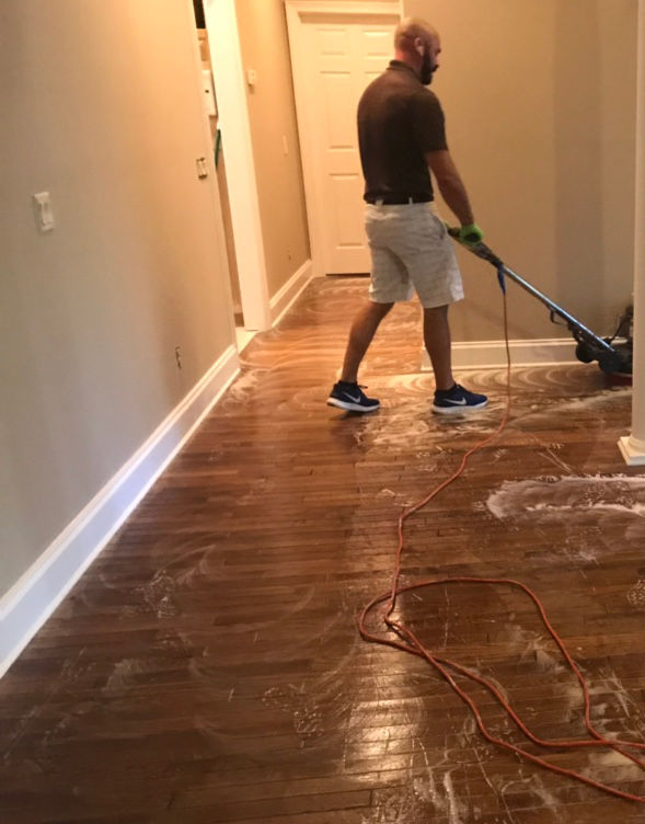 Professional Wood Floor Cleaning  Polishing in St Marys