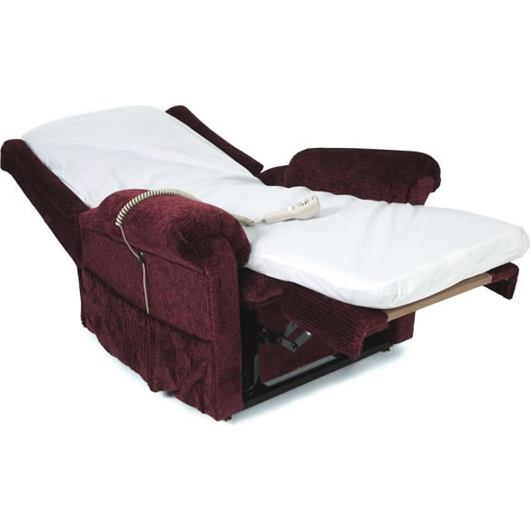 recliner bed chair jazzy power battery life roole pride ll 670 option electric lift call us at 1 800