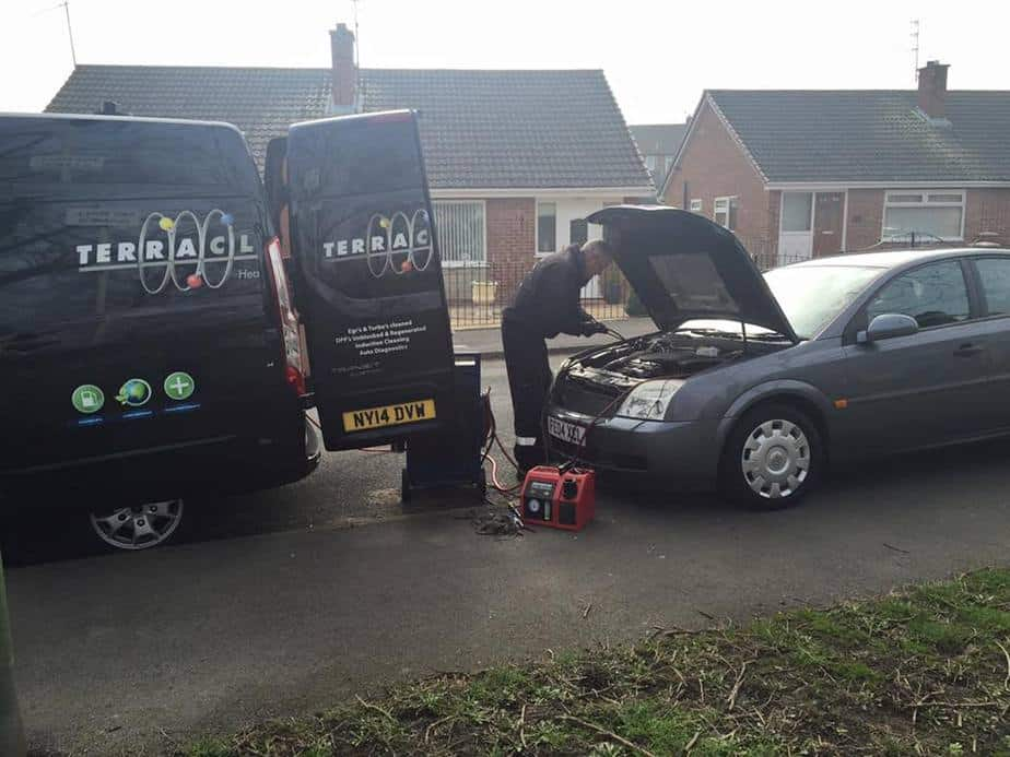 Vauxhall Vectra Terraclean review