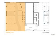 Floor plan of both offices