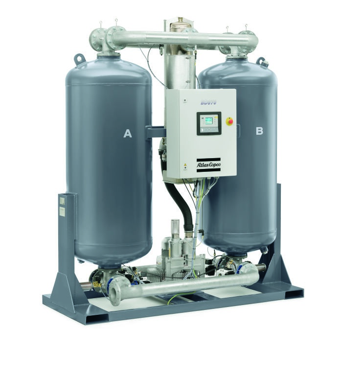 BD 970Desiccant air dryr_left
