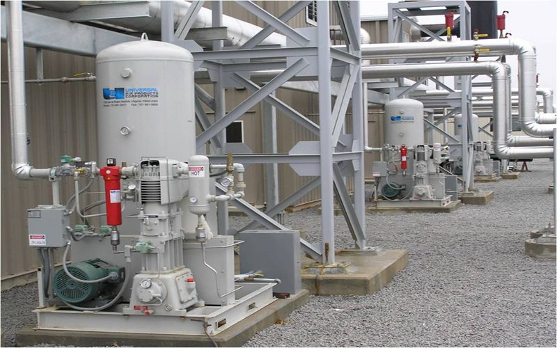 Gas-Compressor--Booster-System
