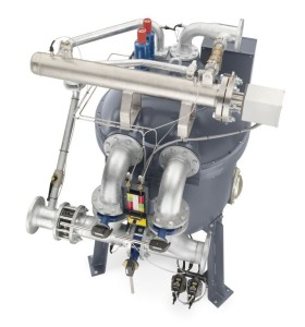 ND 1800 dryer adsorption dryer watercooled top view