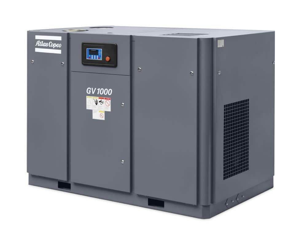 GV 1000 Vacuum pump oil-sealed screw technology