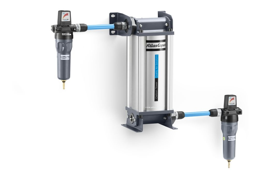 QDT Compressed air filter with UD+ and DDp+