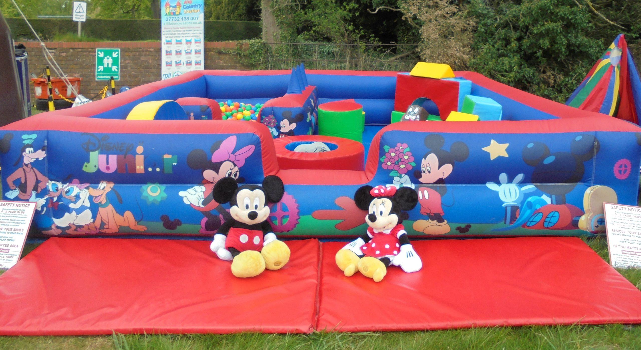 Mickey N Minnie Soft Play