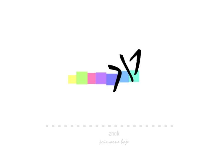 znak primarne boje