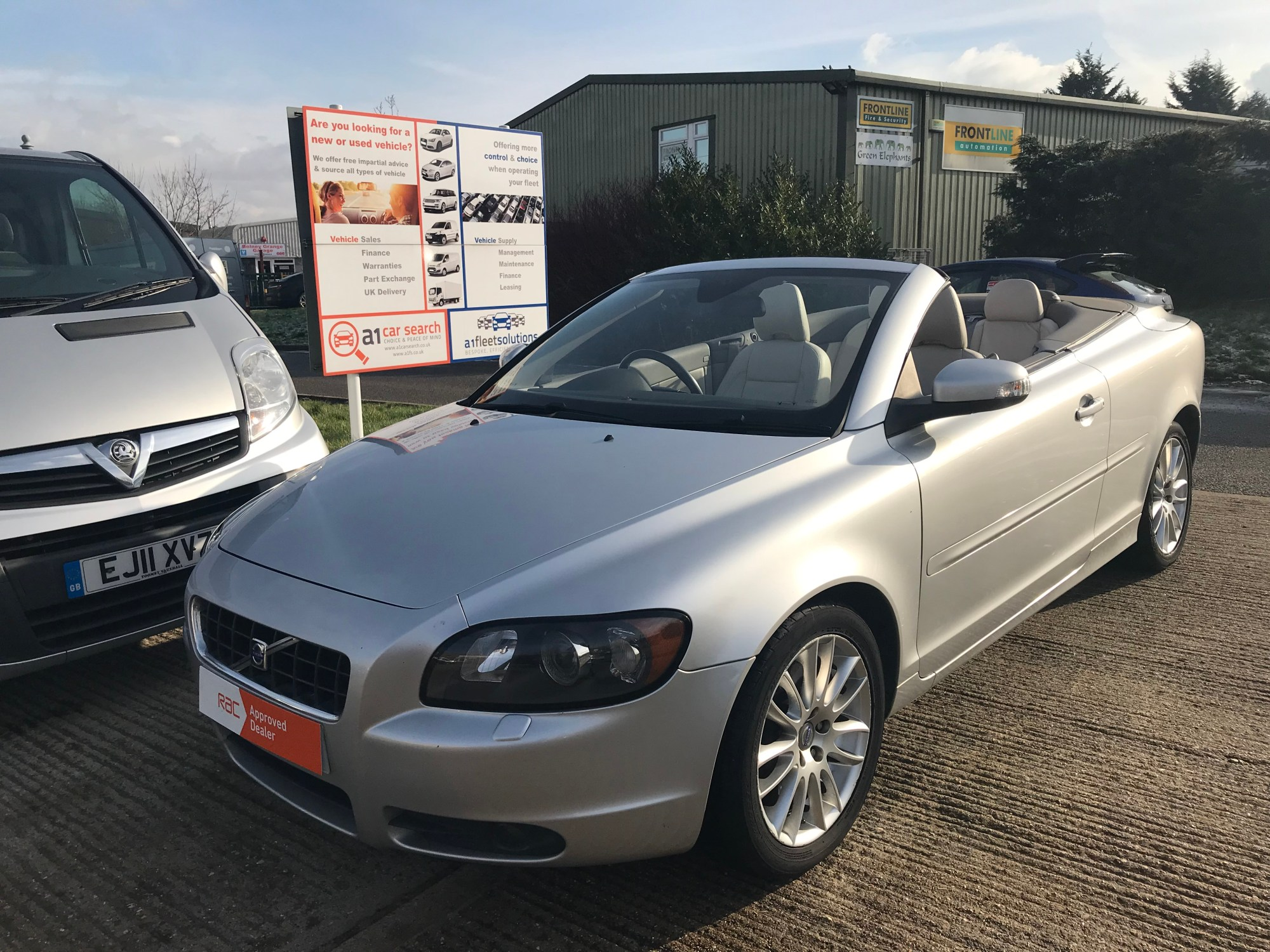hight resolution of 2007 07 volvo c70 se t5 convertible 2 5 petrol manual