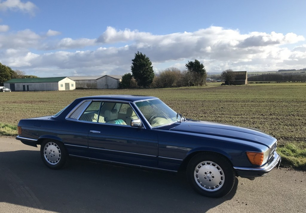 1977 Mercedes Benz 450 SLC coupe automatic