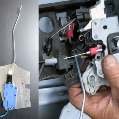 Basic Auto Ignition Wiring Diagram Qo Load Center Installing Power Door Locks In A Jeep Wrangler