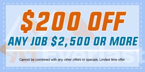 $200 Off Siding Installation