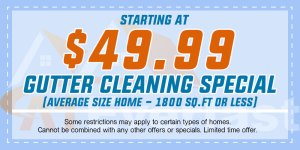 49.99 Gutter Cleaning Special Gutter Services NJ