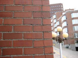 3 masonry problems to watch out for roofing contractor for Brick veneer siding problems