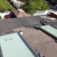 replacing the shingles on a roof