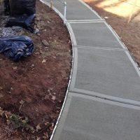 walkway repair complete