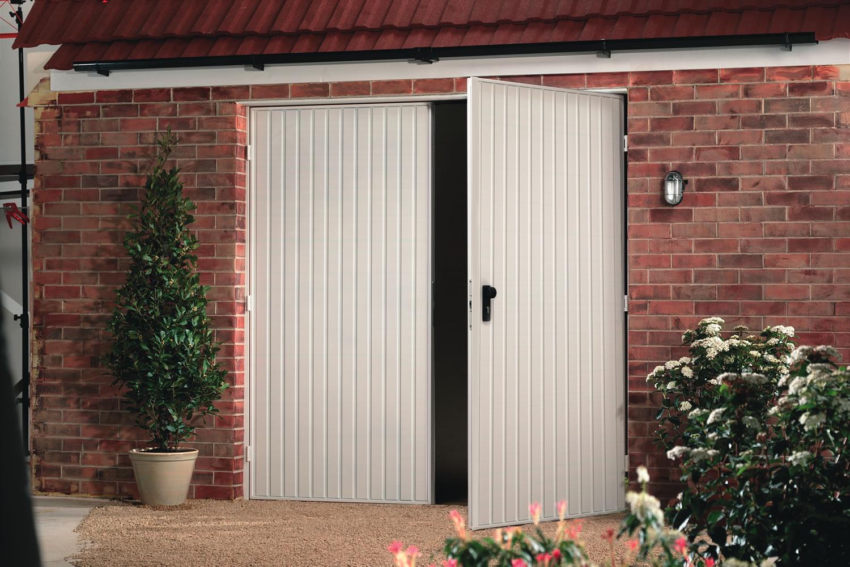 Side Hinged Garage Doors  A1 Garage Doors